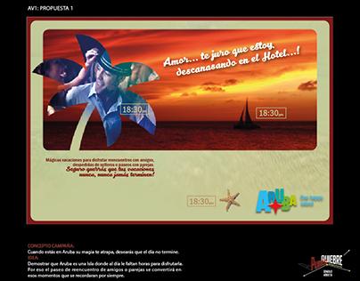 CAMPAÑA ARUBA: CONCURSO