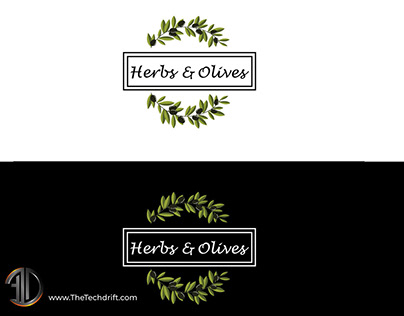 Herbs and Olives - Restaurant Brand Identity