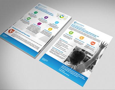 Educational Directions - Cutsheet Design