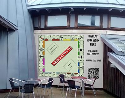Designing an Aberystwyth style Monopoly Board