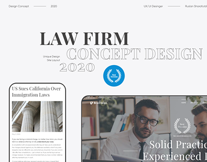 Brainbizz Law Firm | Website concept