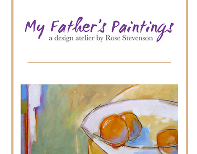 My Father's Paintings - Product development