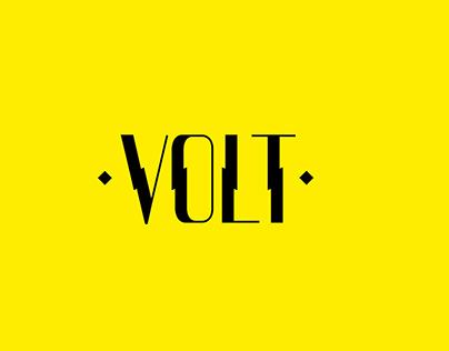 VOLT - Display Typeface