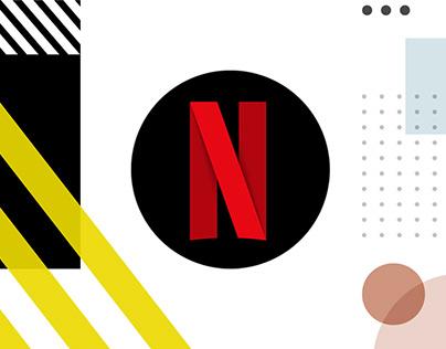 NETFLIX indoor branding
