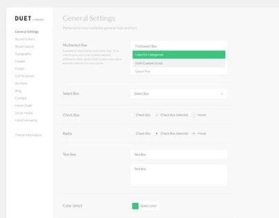 Cuttlefish WordPress Page Builder UI