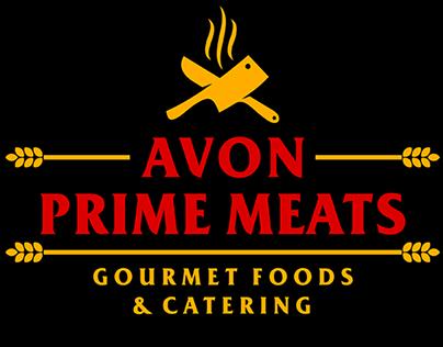 Avon Prime Meats Summer Graphics & Signage
