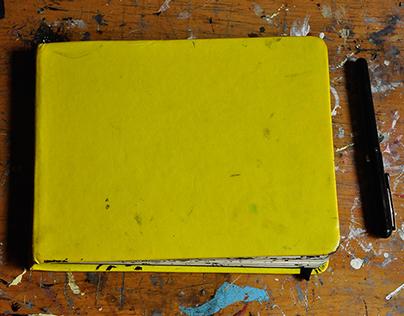 La libreta amarilla/ The yellow sketchbook