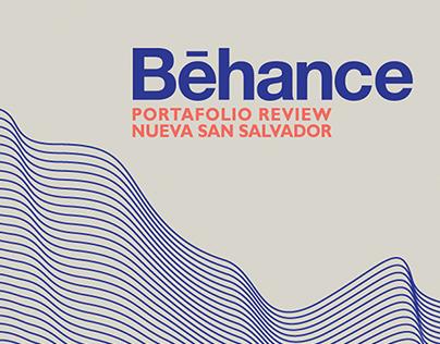 Behance Portfolio Review - Nueva San Salvador NOV 2014