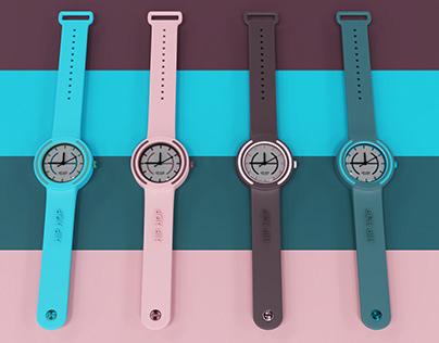 Diseño de reloj para la marca HIP HOP