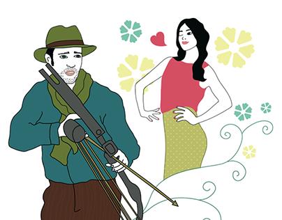 Illustrations for Magazine II