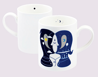 Loveramics x Calvin Ho Mug Set