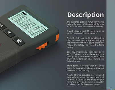 EASY MAP 3D designed for farmers