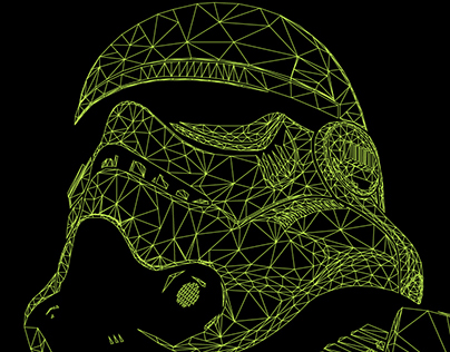 Stormtrooper low poly