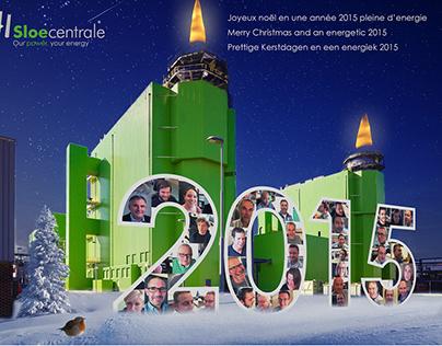 Sloecentrale Christmas card
