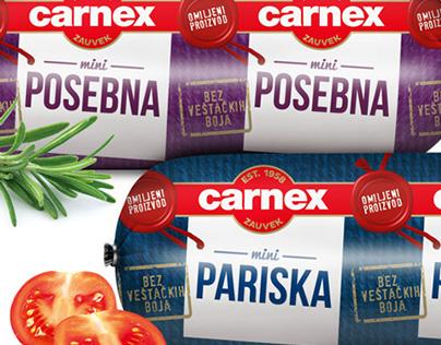 Carnex packaging