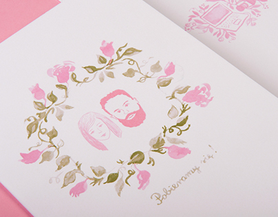 Wedding invitations for Martyna & Paweł