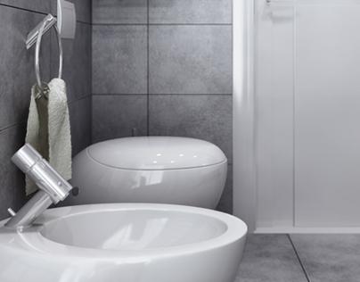 Grey Bathroom LL-02
