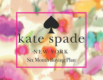 6 Month Buying Plan: Kate Spade