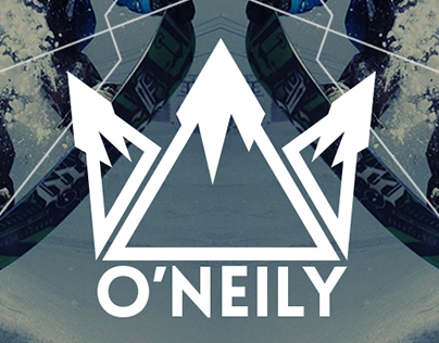 O'Neily snowboard equipment, branding and ads