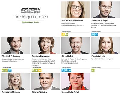 Design Fraktion Grüne Fraktion Sachsen-Anhalt