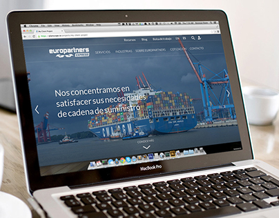 Web Redesign – Europartners