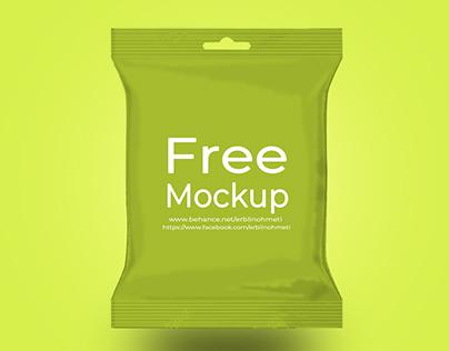 Free PSD Food packaging mockup