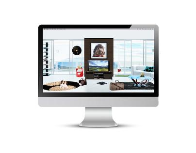 myWebRoom_Summer Visual Intern