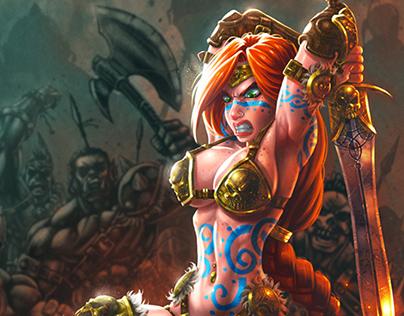 Warrior Princes vs Ogre