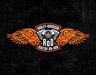 Эмблема «Harley-Davidson» Ростов-на-Дону