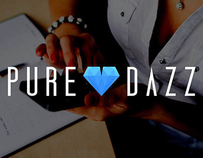 Pure Dazzle Logo and Branding