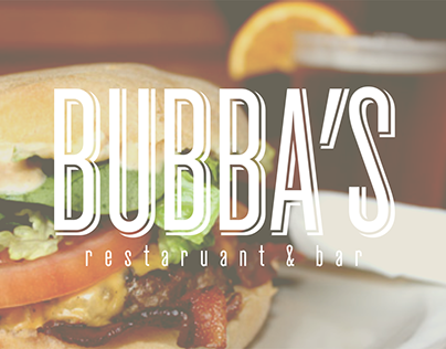 Bubba's Breakfast Menu