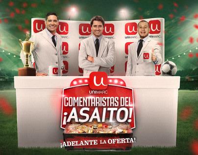 Comentaristas del Asaíto - Unimarc