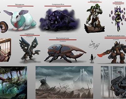 Concept Artist RPG challenge