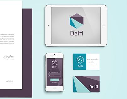 Delfi Data - Brand identity and website