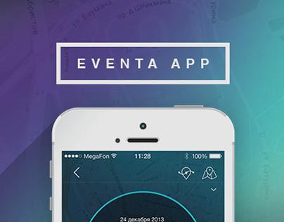 EVENTA iOs app