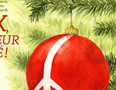 Carte de Noël / Christmas Card