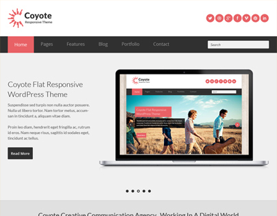 Coyote - Responsive Business HTML5 Template