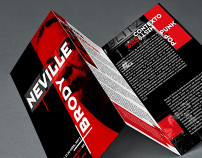 Neville Brody Folding-Poster//Editorial Design