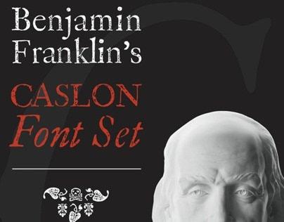 Benjamin Franklin's Caslon