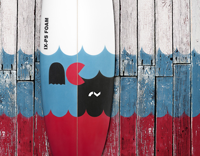 Buster PACMAN, Limited Edition River Surfboard