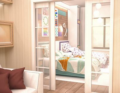 Individual House, Kids Room Interior Design