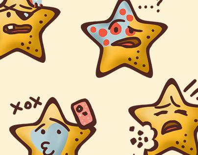 Cute cookies (stars)