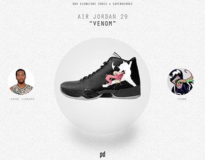 NBA Signature Shoes x Superheroes