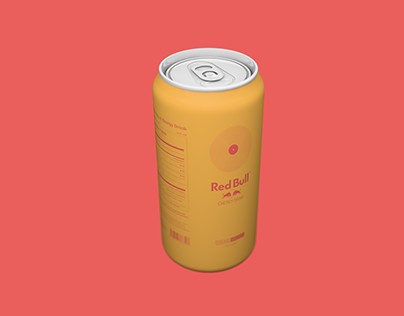 Red Bull (Sound Selects): Product Design + Illustration