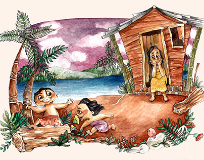 Folklore Illustration Competition (as 3rd winner)