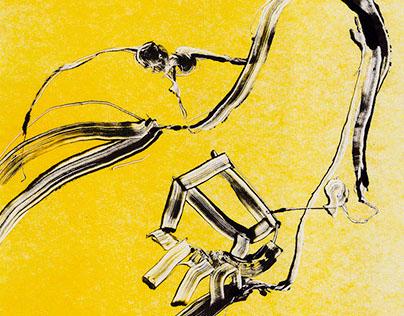Pornographic (printed graphic 594 × 841)