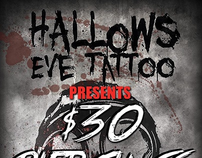 Hallows Eve Flyer