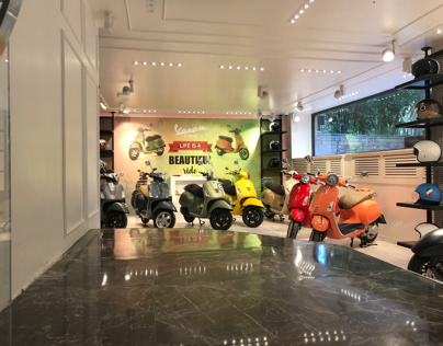 Vespa shop at bebek