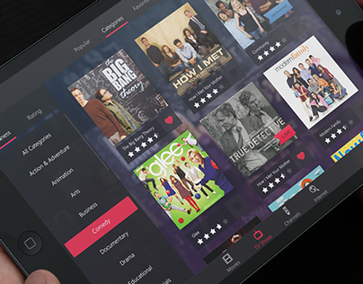 Video Service for SmartTV and tablet