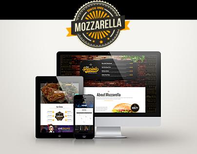 Mozzarella Cafe Bar PHP+HTML5 Template